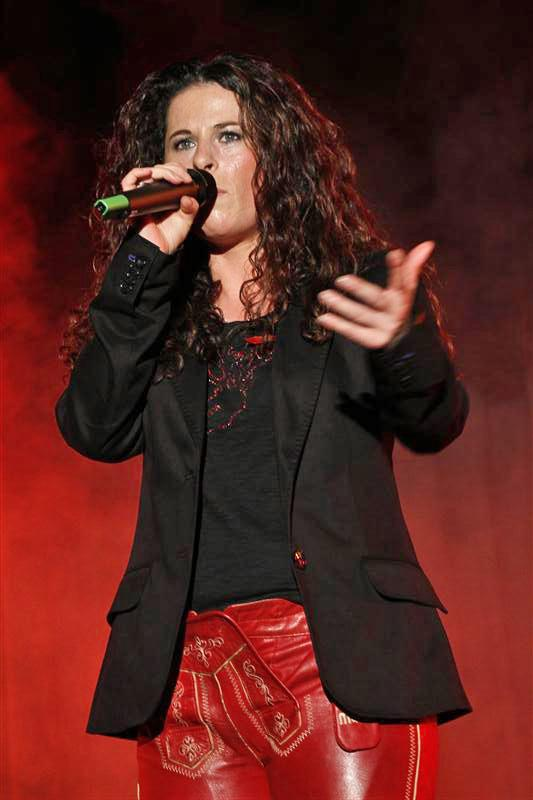 Professionelle Sängerin