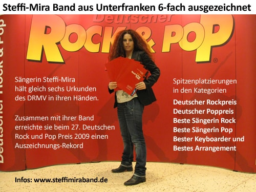 Deutscher Rock-und Poppreis - Vita